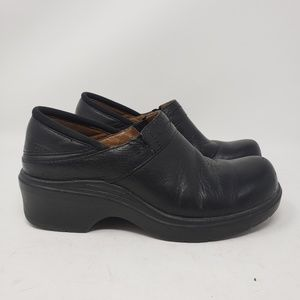 Ariat women's black leather clogs size 6.5